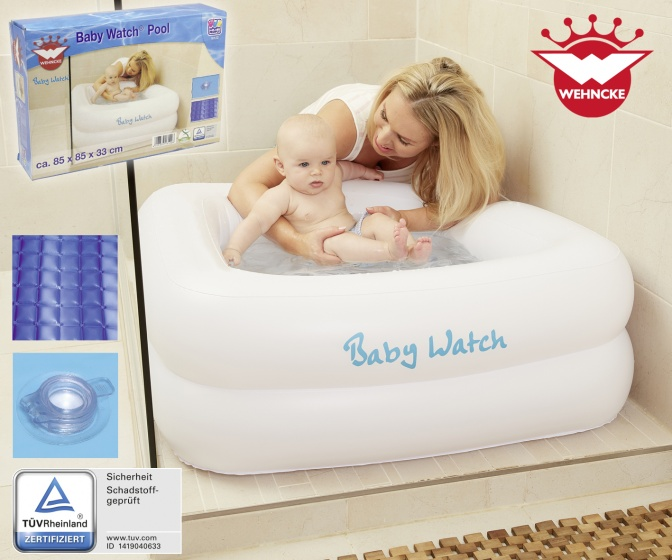 inflatable pool WehnckeBabywatch ø80 x 30 cm white