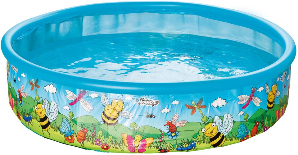 Happy People opzetzwembad 185 x 39 cm blauw