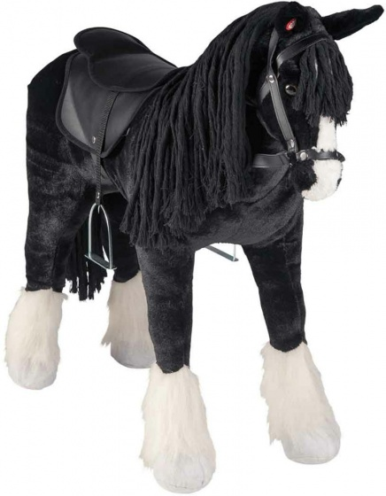 horse Shire with sound black 83 cm