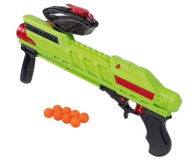Happy People Powerball Blaster 45 cm incl 8 ballen
