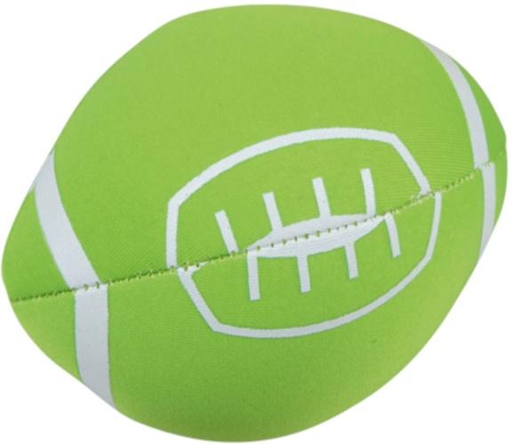 Happy People Splashbal football 13 cm foam groen