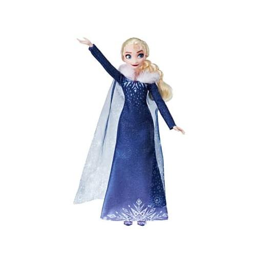 Hasbro Disney Frozen tienerpop Elsa 28 cm meisjes blauw