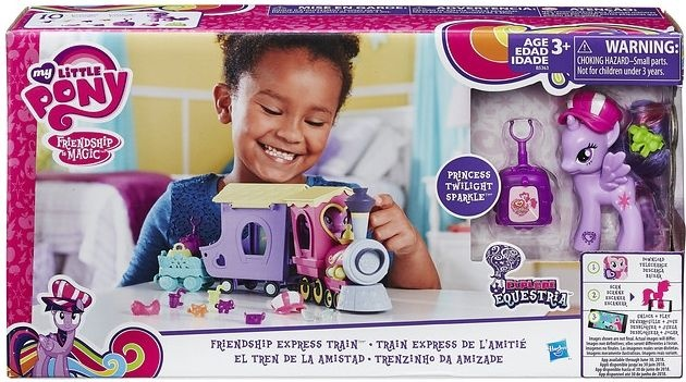 Hasbro Friendship Express Train My Little Pony
