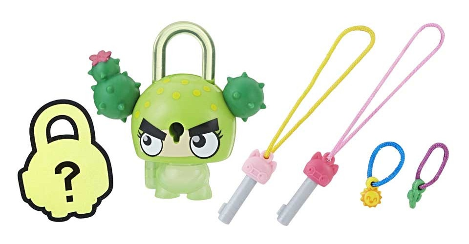 Hasbro Lock Stars figuur Cactus groen 5 delig