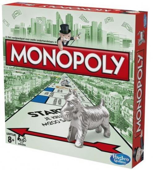 Hasbro Monopoly standaard 2 8 spelers