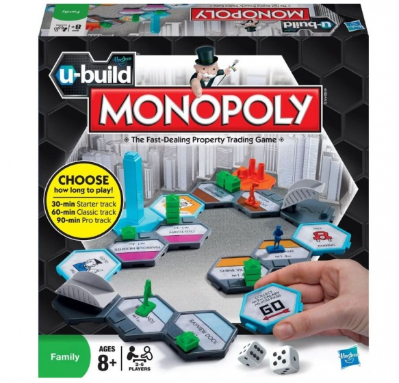 Hasbro Monopoly U Build Spel