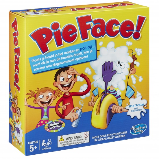 Hasbro Slagroom Snoet / Pie Face