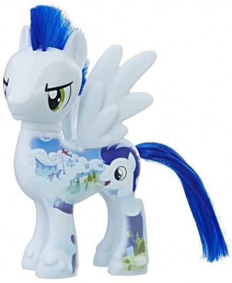 Hasbro speelfiguur My Little Pony: Soarin 15 cm wit