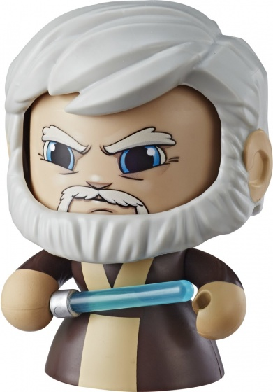 Hasbro Star Wars Mighty Muggs �bi Wan Kenobi 9,5 cm bruin/creme