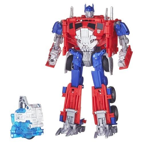 Hasbro transformer Optimus Prime jongens rood 15 cm