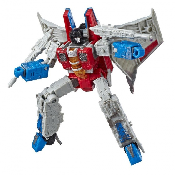 Hasbro transformer Siege Voyager Class Starscream 18 cm