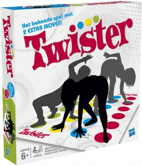 Hasbro Twister gezelschapsspel
