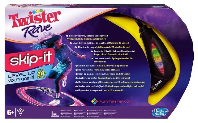 Hasbro Twister Rave Skip It
