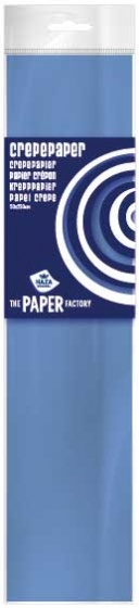 Haza Original crêpepapier The Paper Factory 250 cm blauw