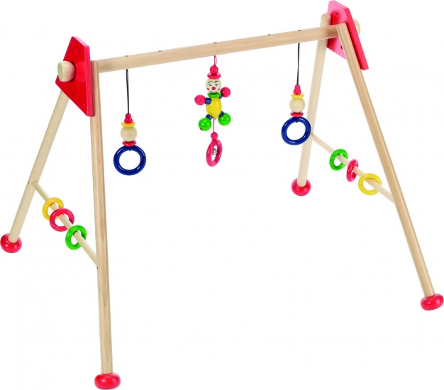 BABYGYM HOUT ROOD MANNETJE