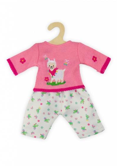 Heless poppenkleding Alpaca Oscar 28 35 cm roze