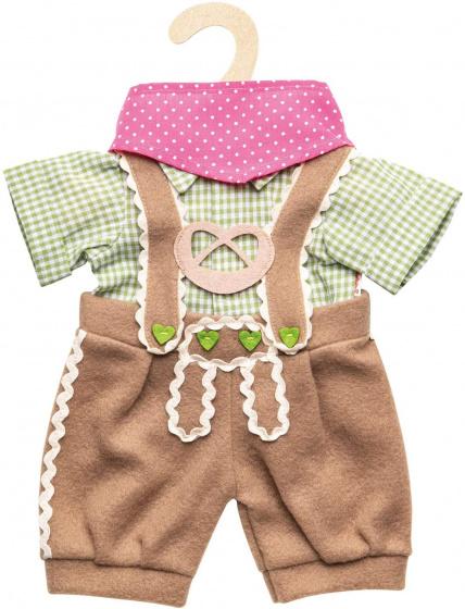 Heless poppenkleding oktoberfeest meisjes 35 45 cm 3 delig