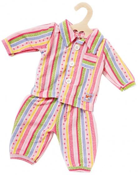 Poppen Pyjama, 28-33 Cm