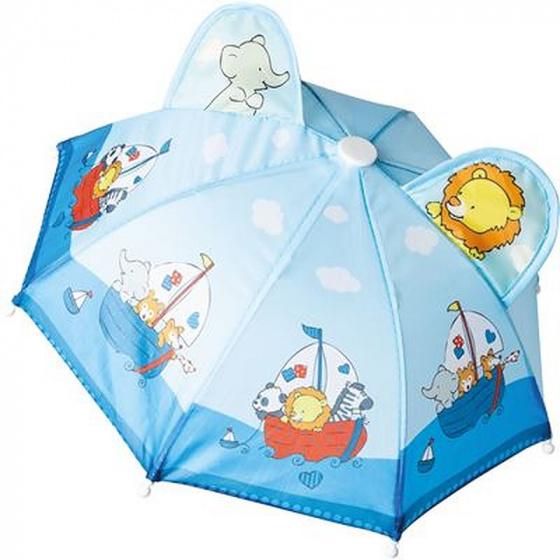 Heless regenscherm poppen Zeilen junior mesh lichtblauw