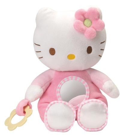 Hello Kitty Knuffel Activite meisjes roze 24 cm