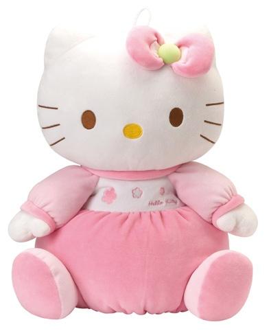 Hello Kitty Knuffel Baby Housse Pyjama meisjes roze 40 cm