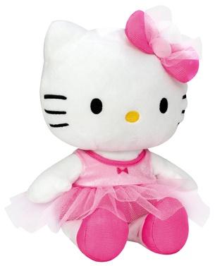 Hello Kitty Knuffel Ballerine meisjes roze 27 cm