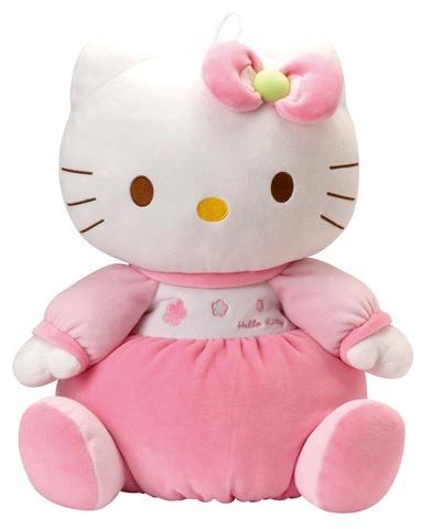 Hello Kitty Knuffel Housse Pyjama meisjes roze 32 cm