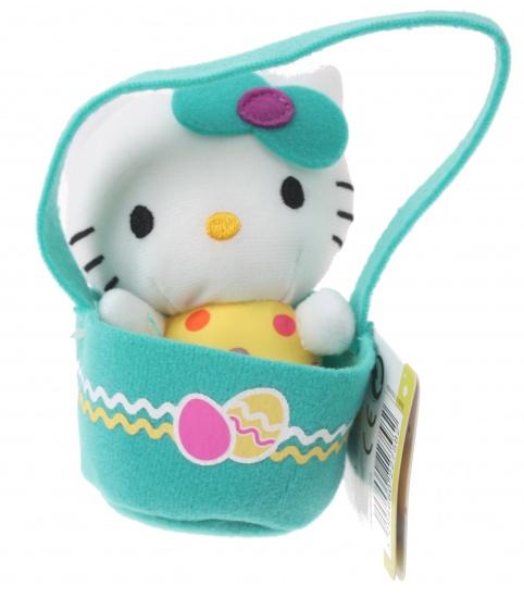 Hello Kitty Knuffel Panier meisjes groen 12 cm
