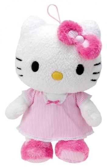 Hello Kitty Knuffel pyjama meisjes roze 40 cm