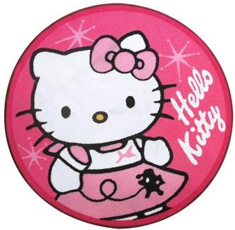 Hello Kitty Speelkleed Rond meisjes roze 80 cm