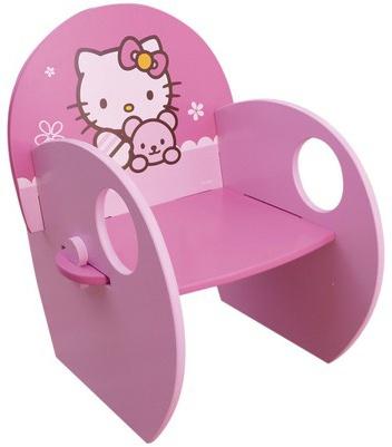 Hello Kitty Stoel meisjes roze 49 x 37 x 40.5 cm