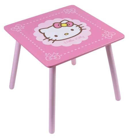 Hello Kitty Tafel meisjes roze 50 x 50 x 44 cm