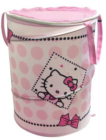 Hello Kitty Wasmand Pop Up meisjes roze 38 x 50 cm
