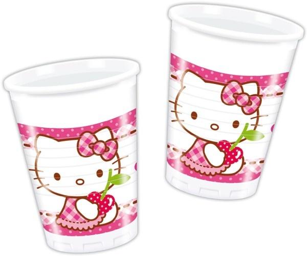 Hello Kitty Bekertjes 200 ml 6 Stuks