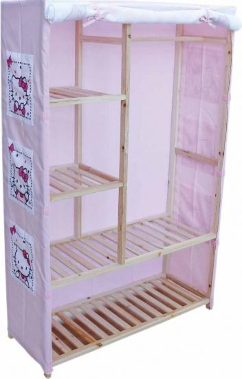 Hello Kitty Cover voor een kast roze 140 x 90 x 35 cm