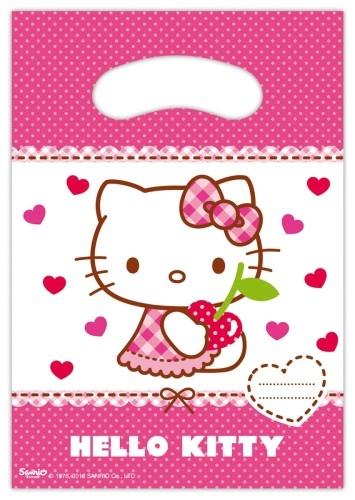 Hello Kitty Feestzakjes 6 Stuks