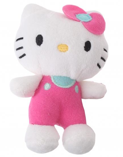 Hello Kitty Knuffel Salopette meisjes roze 12 cm