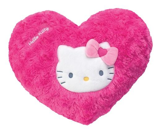 Kinderkamer Hello Kitty : Hello Kitty Kussen Hart Meisjes Roze 43 X ...