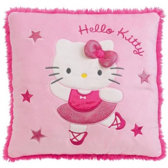 Hello Kitty Kussen meisjes roze 32 cm
