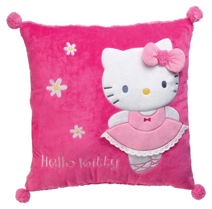 Hello Kitty Kussen meisjes roze 43 cm