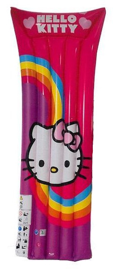 Hello Kitty luchtbed Hello Kitty junior 185 cm paars/roze