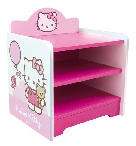 Hello Kitty Nachtkastje meisjes roze 36,5 x 29 x 38 cm