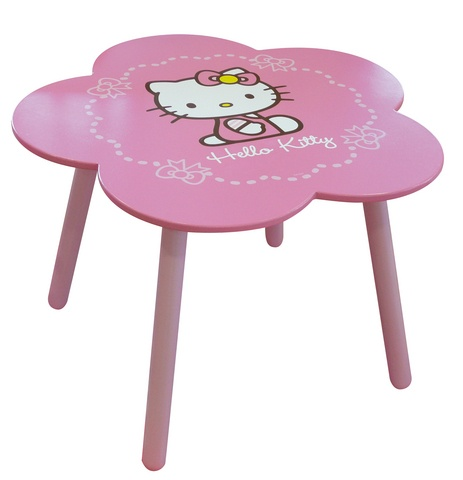 Hello Kitty Tafel meisjes roze 46,5 x 65 cm