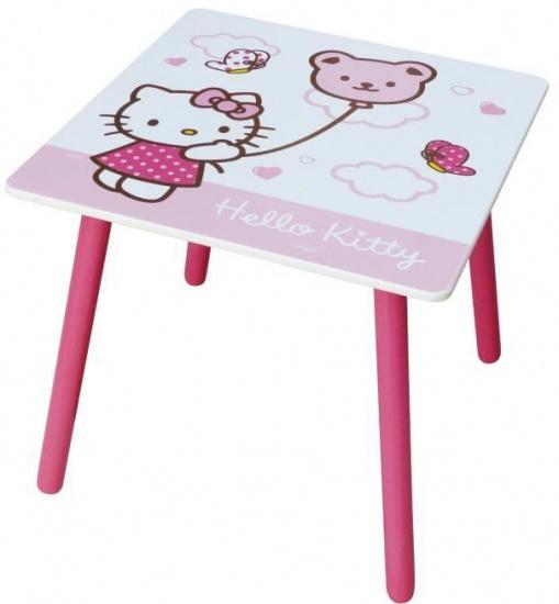 Hello Kitty Tafel meisjes roze/wit 50 x 50 x 44 cm