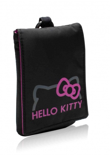 Sanrio Universeel tasje Hello Kitty 12 x 8.5 x 1.5 cm zwart kopen
