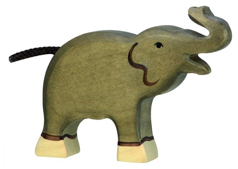 Holztiger Houten Babyolifant