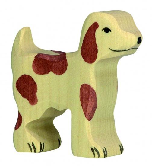 Holztiger hond hout 6 x 1,9 x 5,5 cm