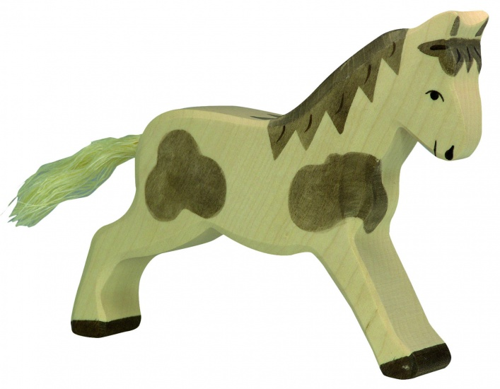 Holztiger Houten Boerderij: Gevlekt Paard