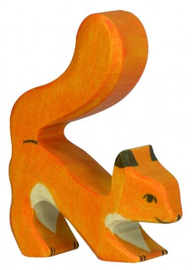 Holztiger Houten Bosdieren: Eekhoorn Oranje