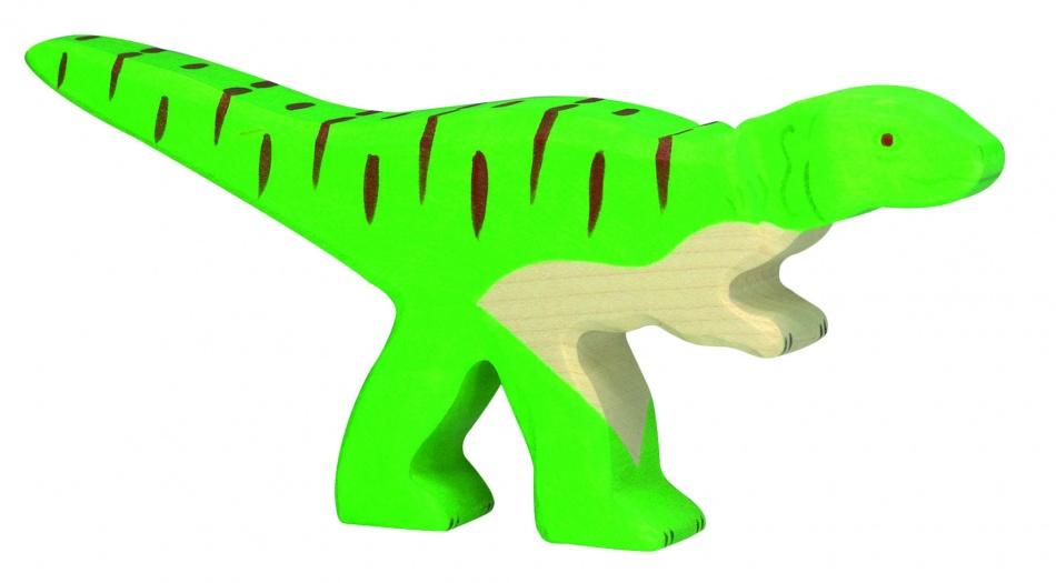 Holztiger Houten Dinosaurus: Allosaurus